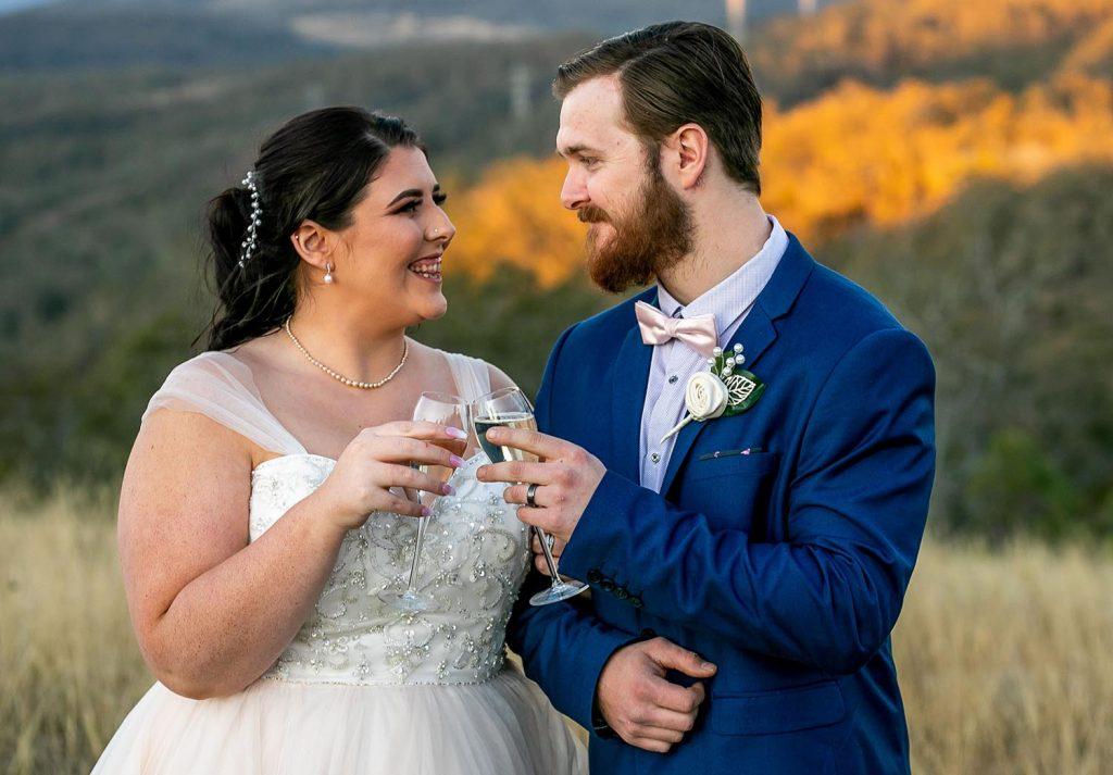 Wedding Photography - cheers