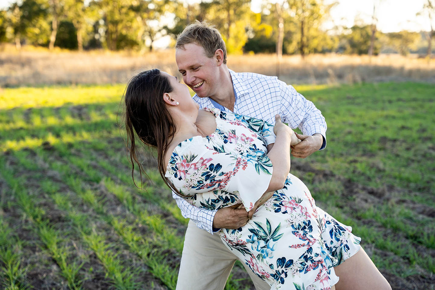 Engagement Photography - couple dancing