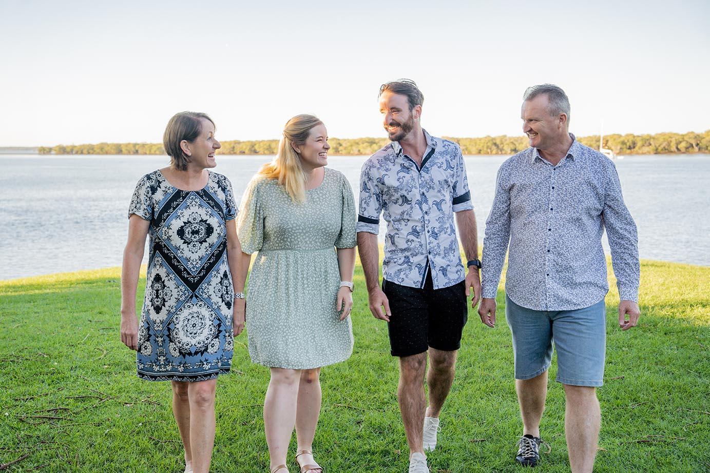 Family Photography near water