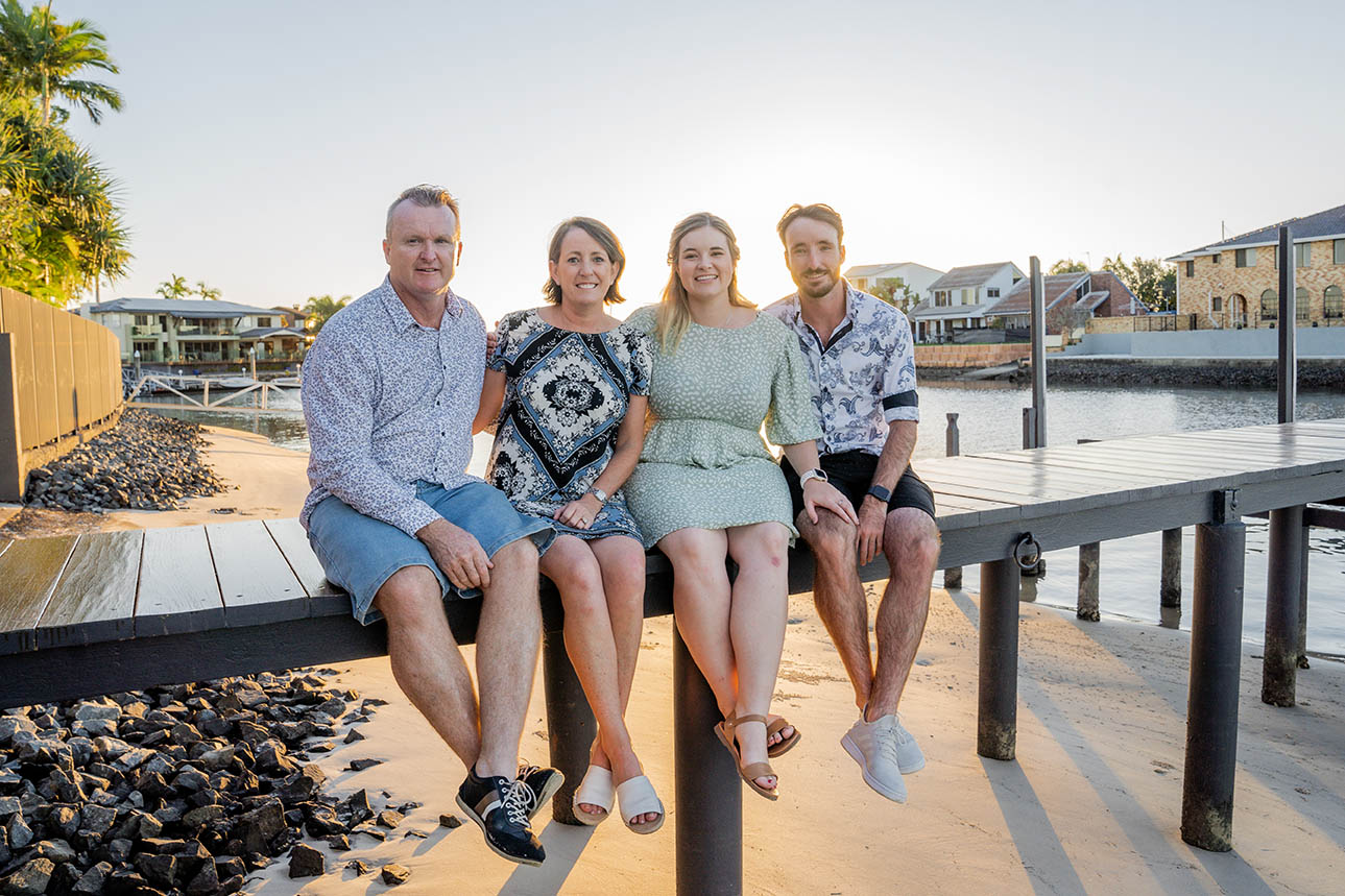Family Photography on Pier