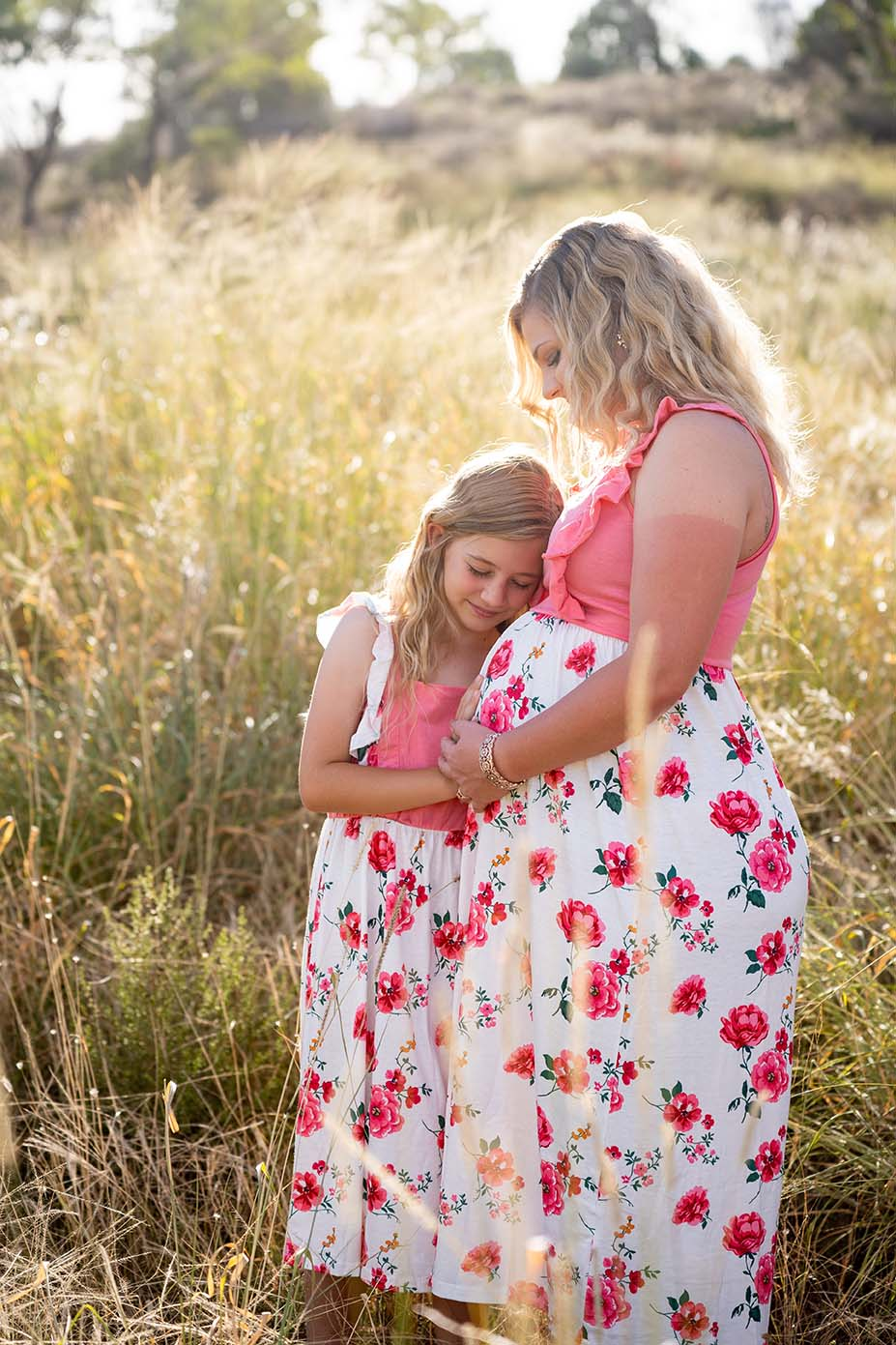 Maternity Photography - Mother and Daughter