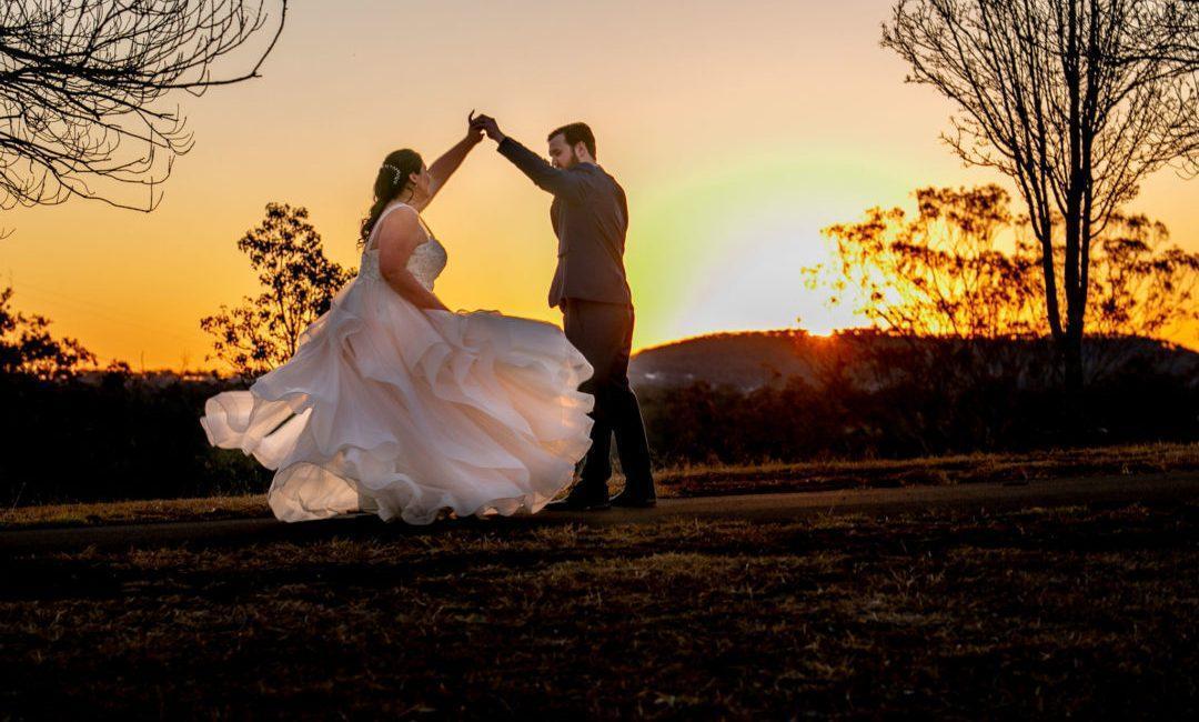 Wedding Photography - Couple at Preston Peak Winery