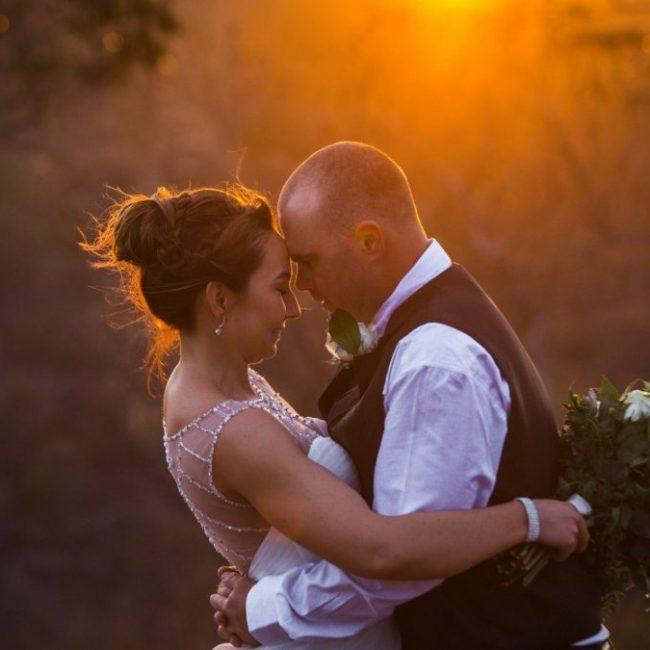Wedding Photography Couple at Sunset