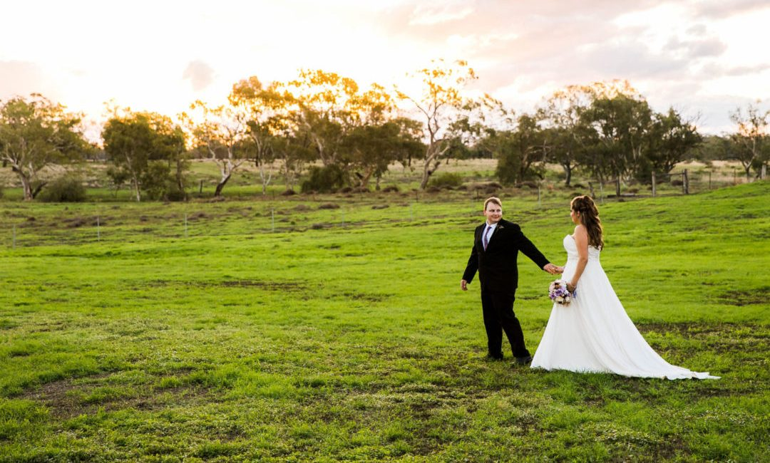 Wedding Photography - Green Fields