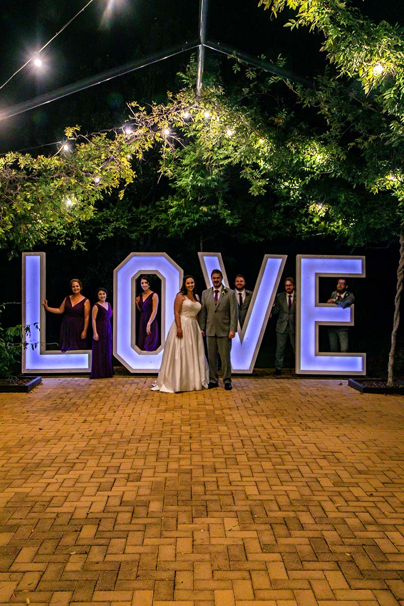 Wedding Photography - bridal party love