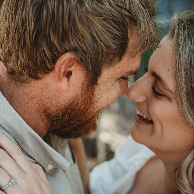 Engagement Photography - Couple smiling