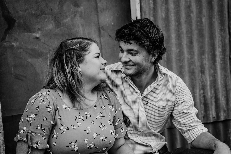 Engagement Photography - Black & White