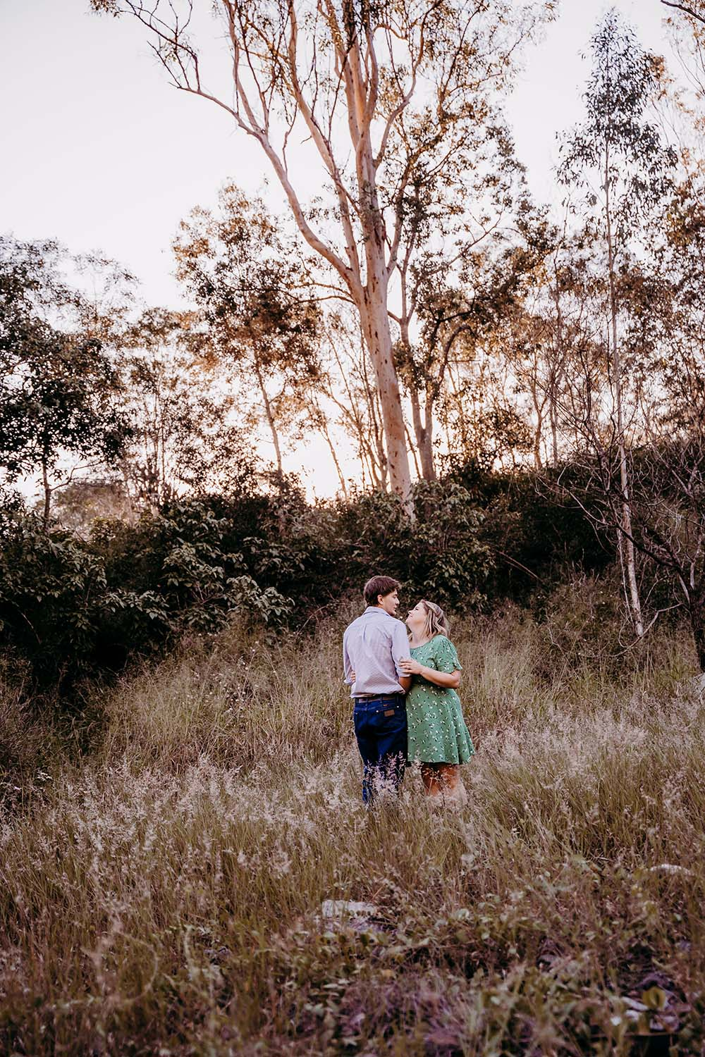 Engagement Photography - in field