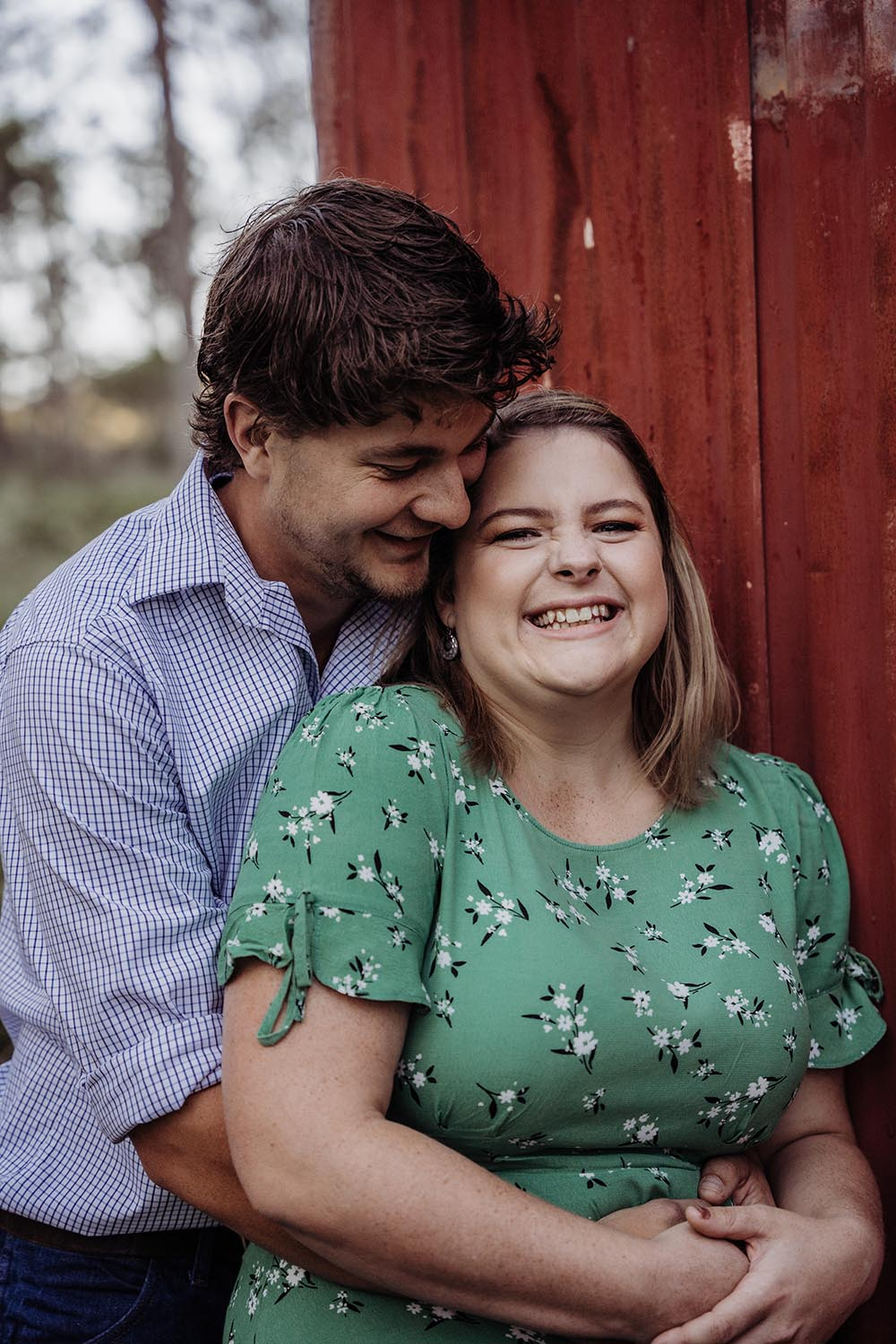 Engagement Photography - laughing
