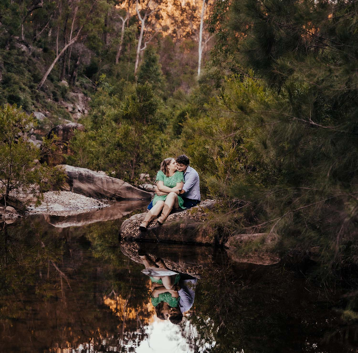 Engagement Photography - on the water