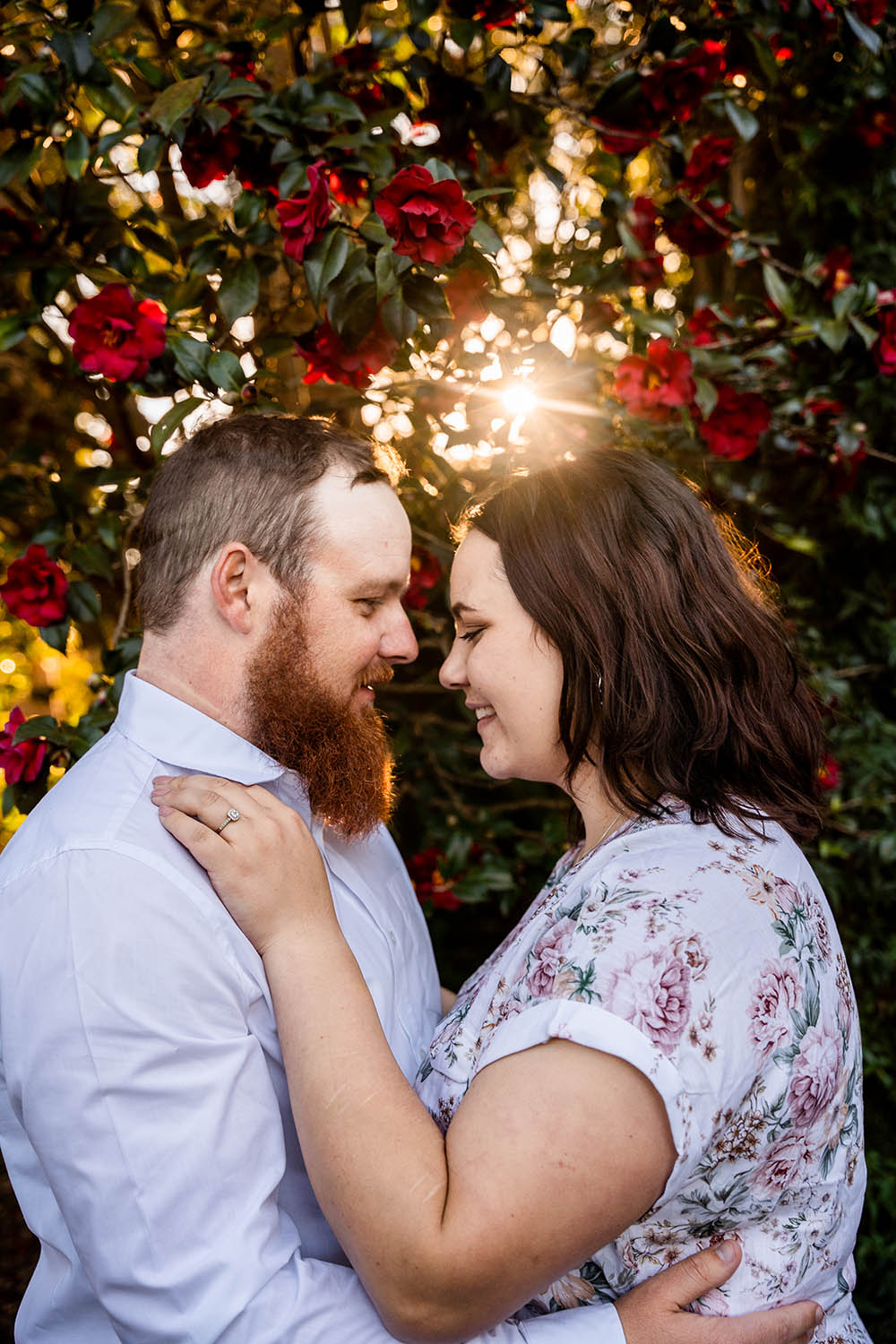 Family Photography - Couple embracing