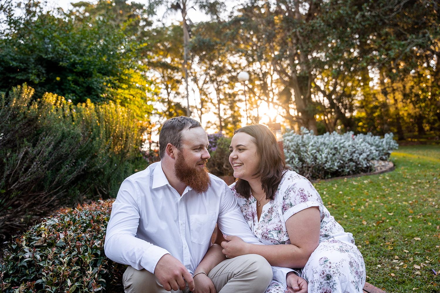 Family Photography - Couple smiling