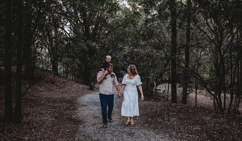 Family Photography - family walking