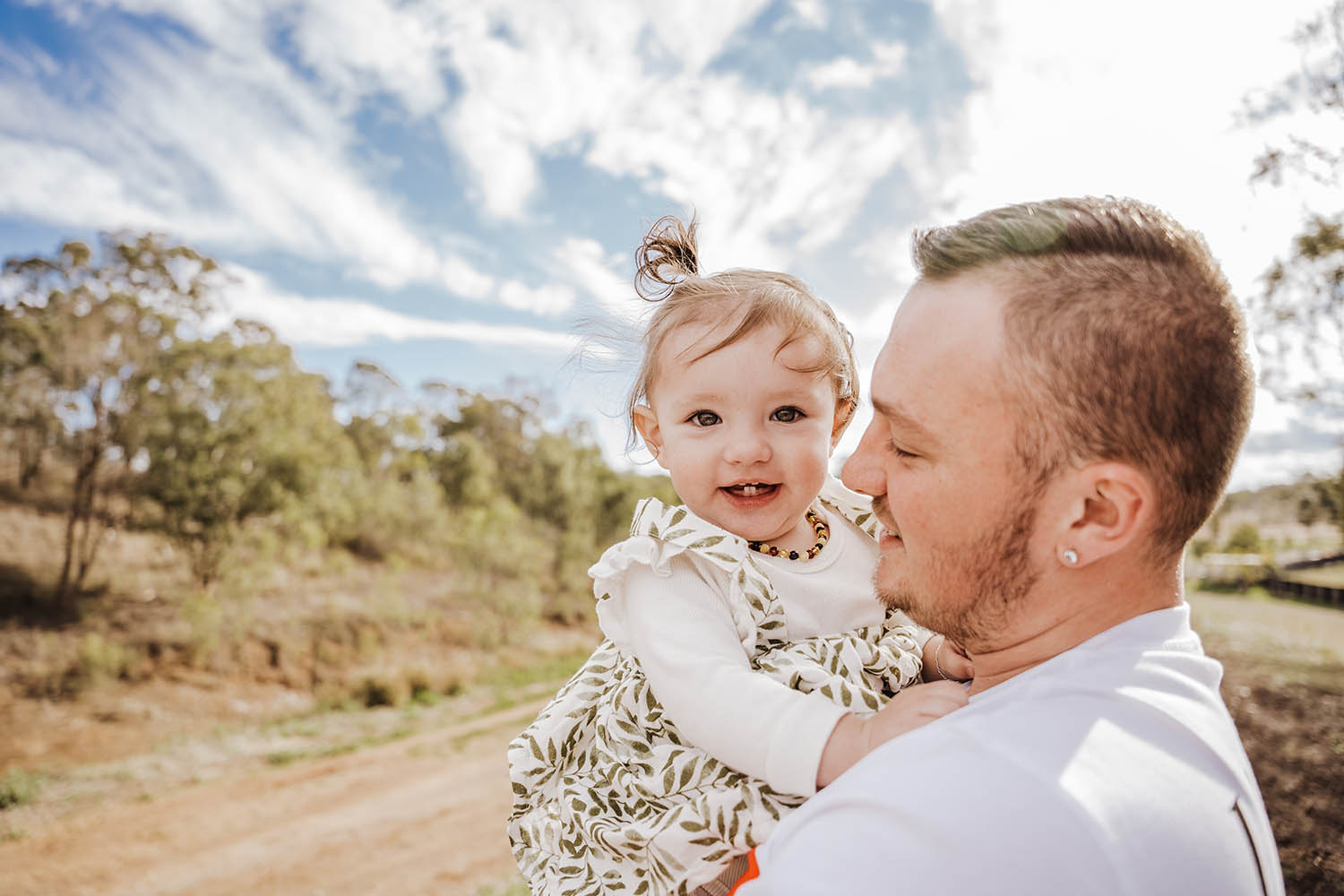 Family Photography - father and daughter