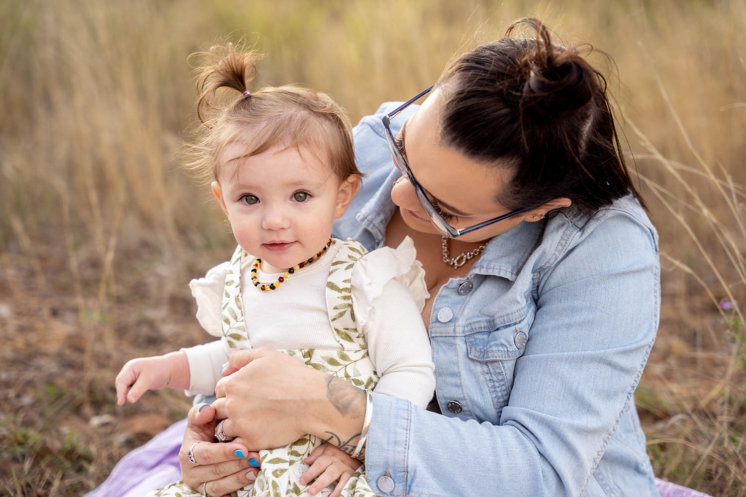 Family Photography - mother and daughter