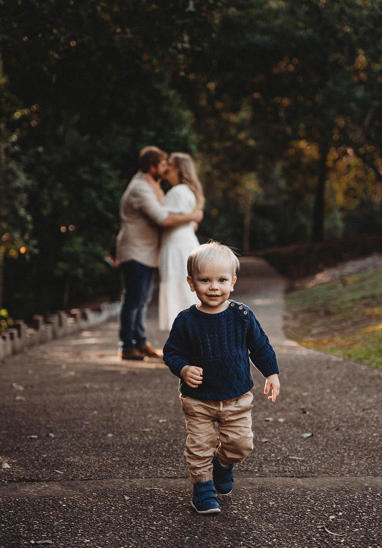 Family Photography - toddler walking