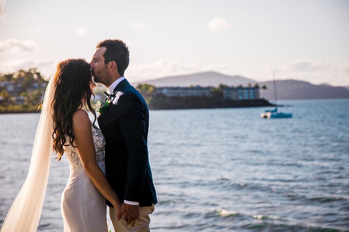 Wedding Photography - forehead kisses