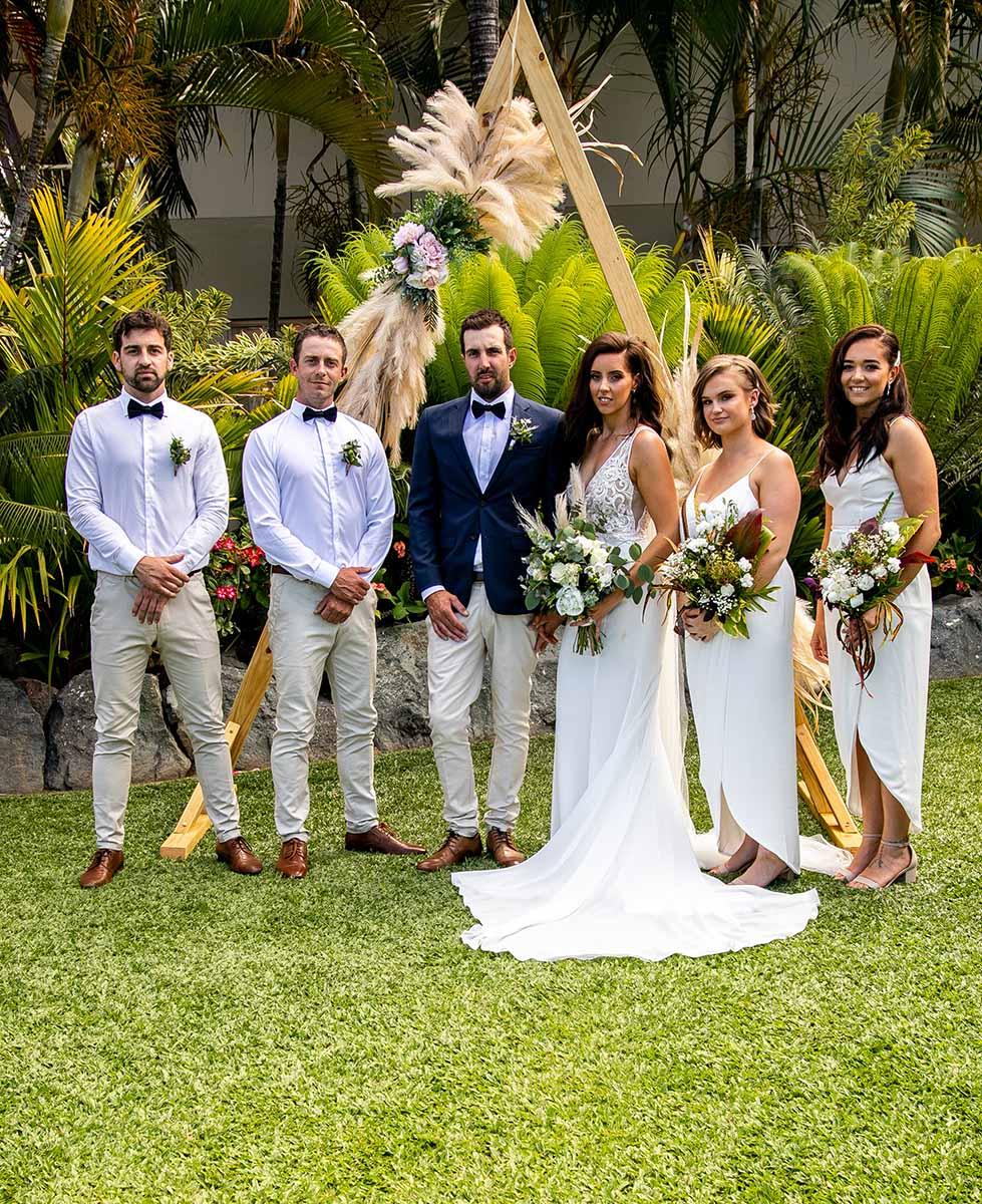 Wedding Photography - reception bridal party