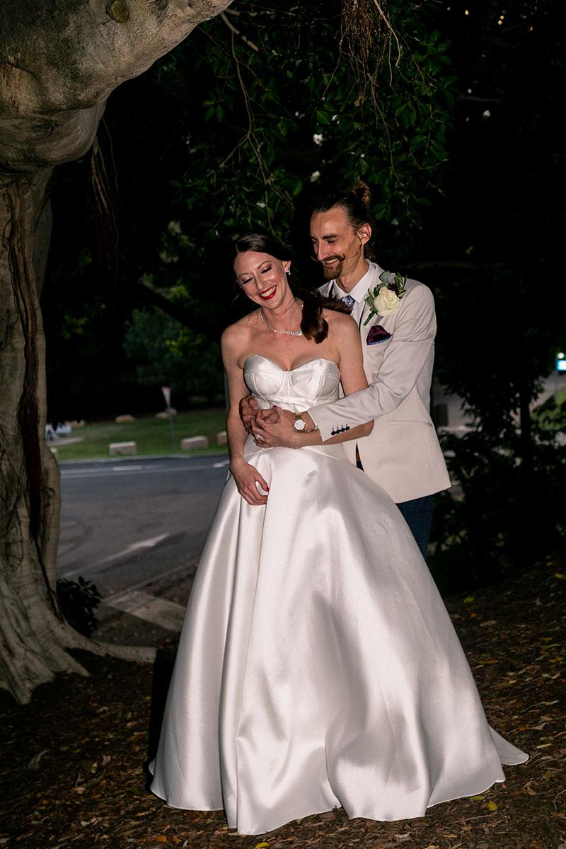 Wedding Photography - Couple under tree