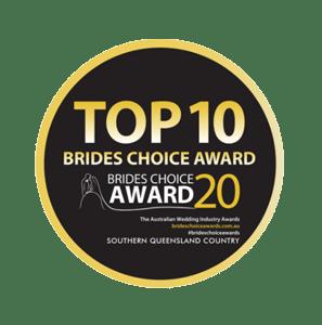 Top 10 Brides Choice Award