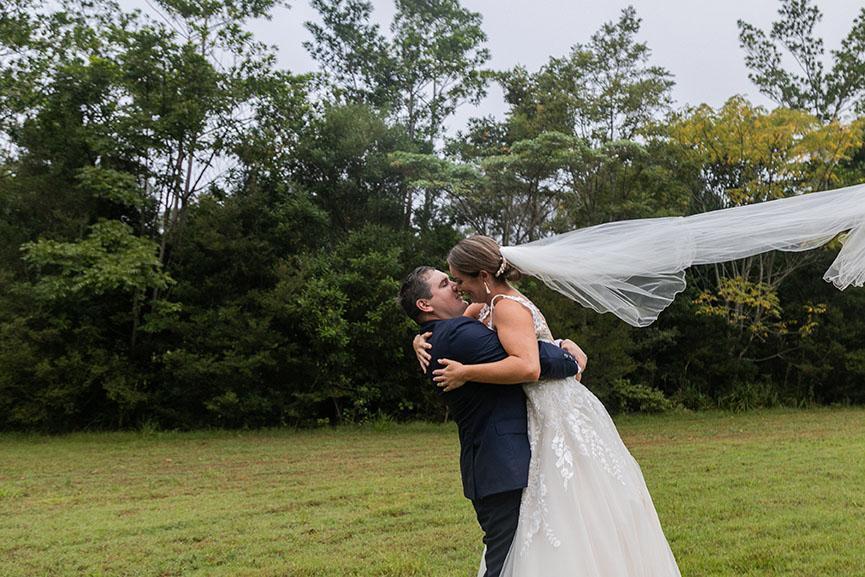 Wedding Photography - couple kissing