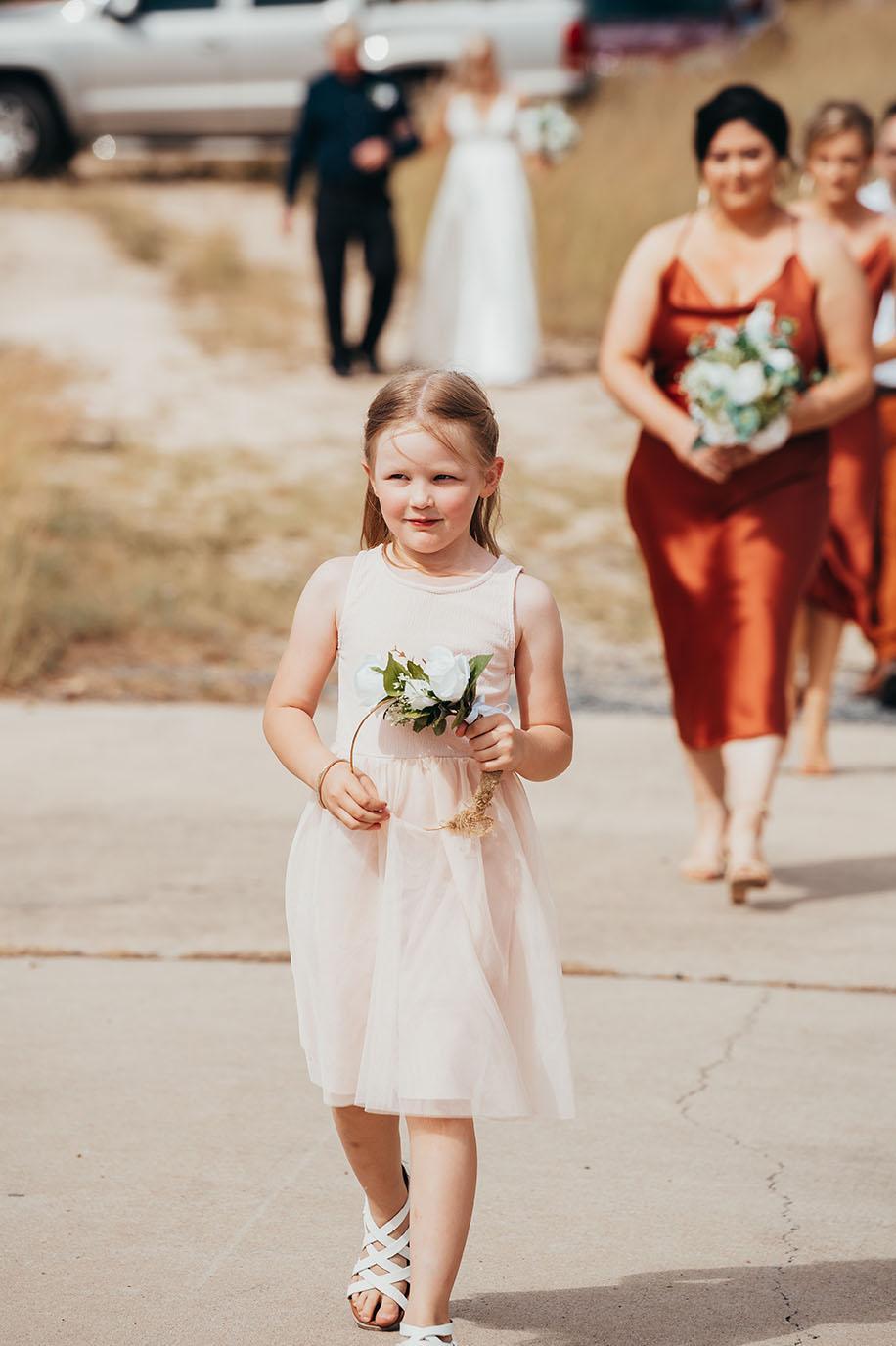 Wedding Photography - flower girl