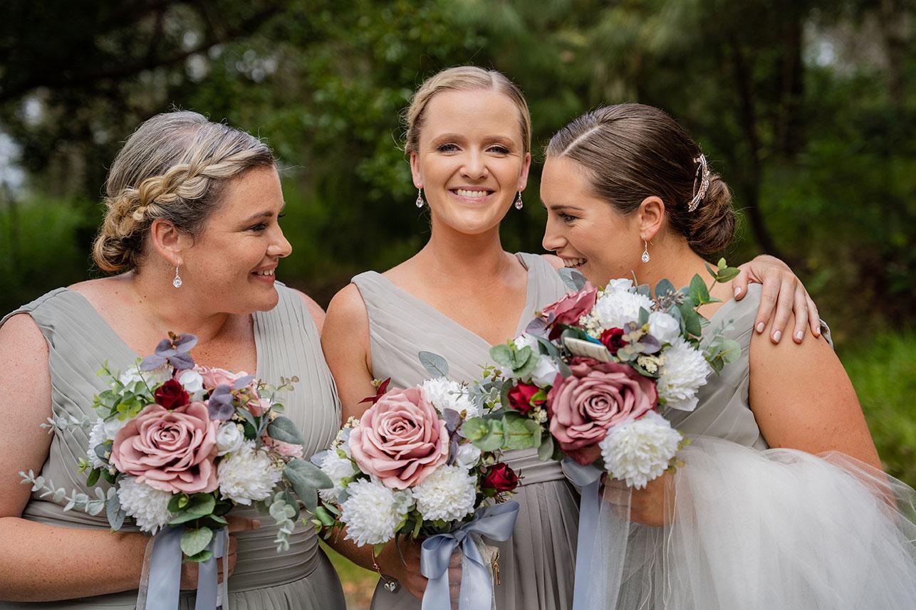 Wedding Photography - bride and bridesmaids