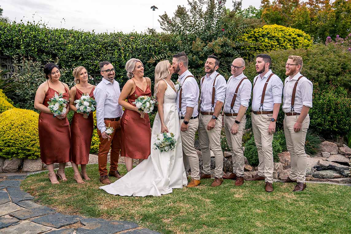 Wedding Photography - full bridal party