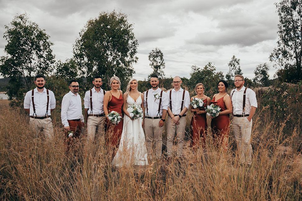 Wedding Photography - bridal party