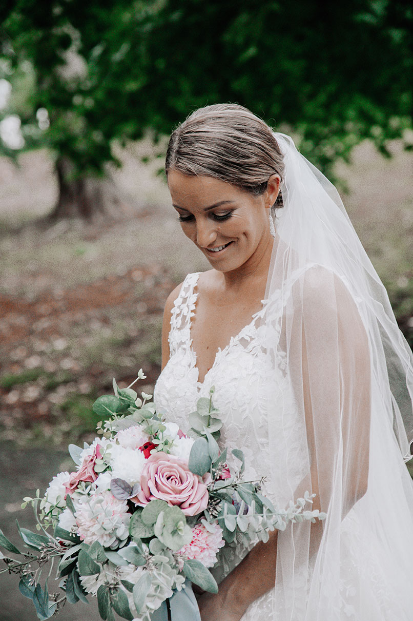 Wedding Photography - bride Close Up