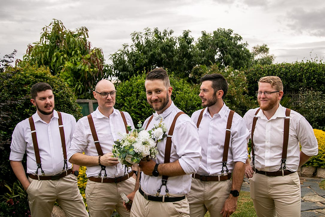 Wedding Photography - groomsmen