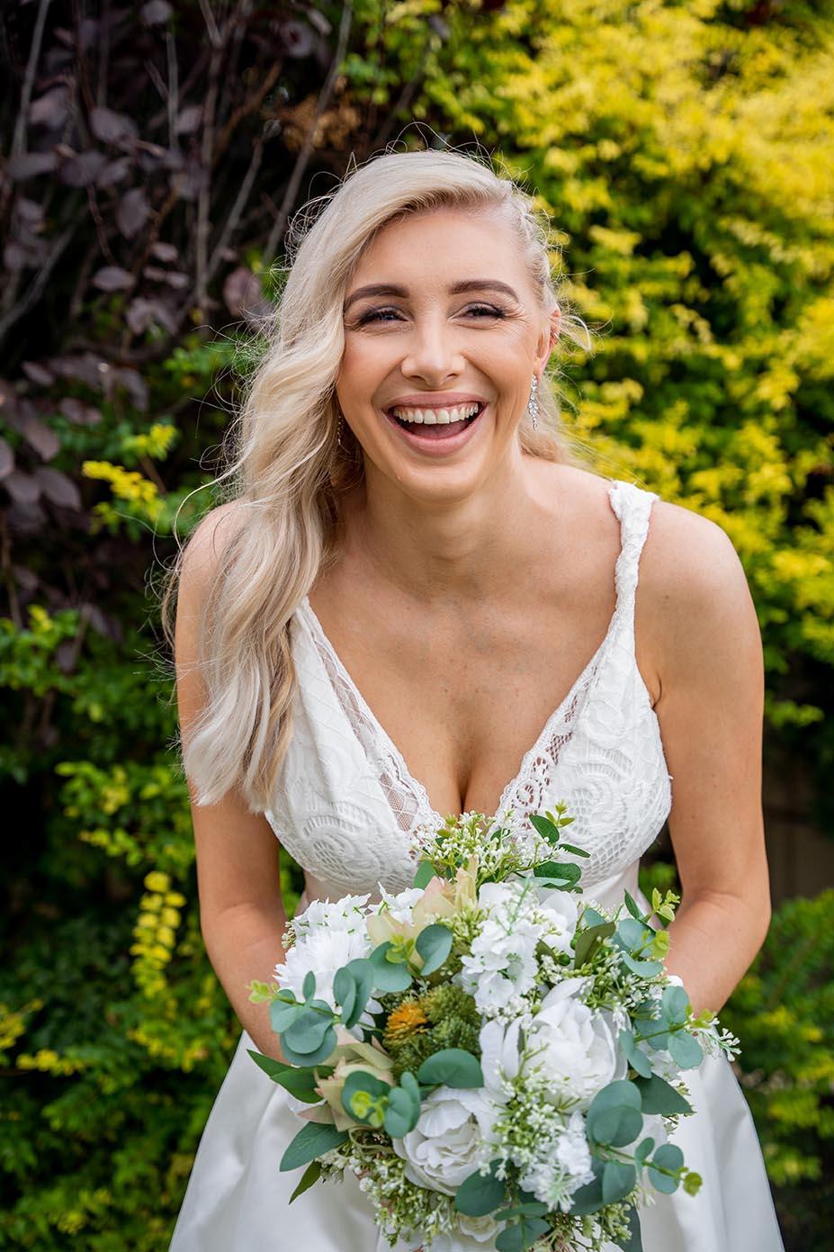 Wedding Photography - smiling bride