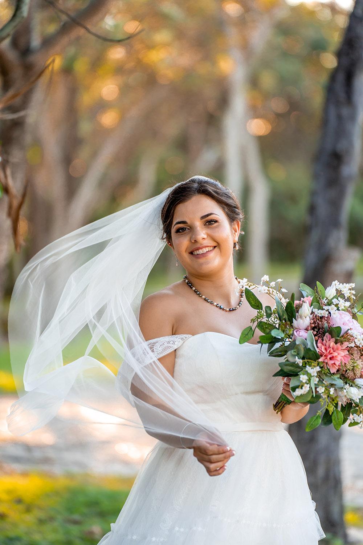 Wedding Photography - Bride Veil