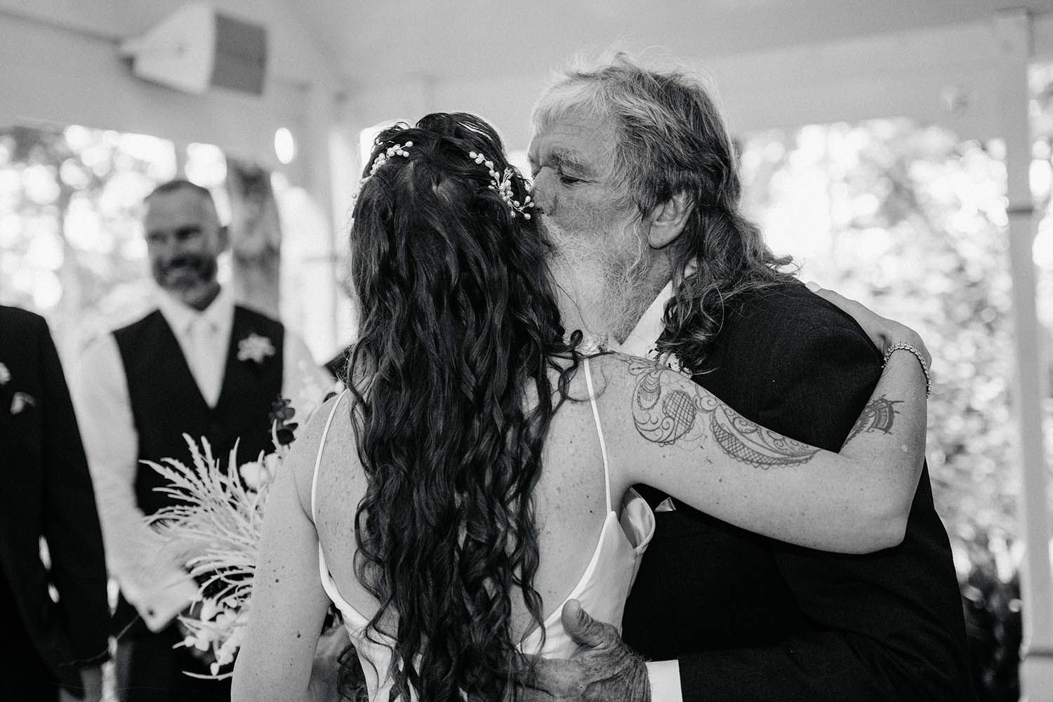Wedding Photography - Bride and Father