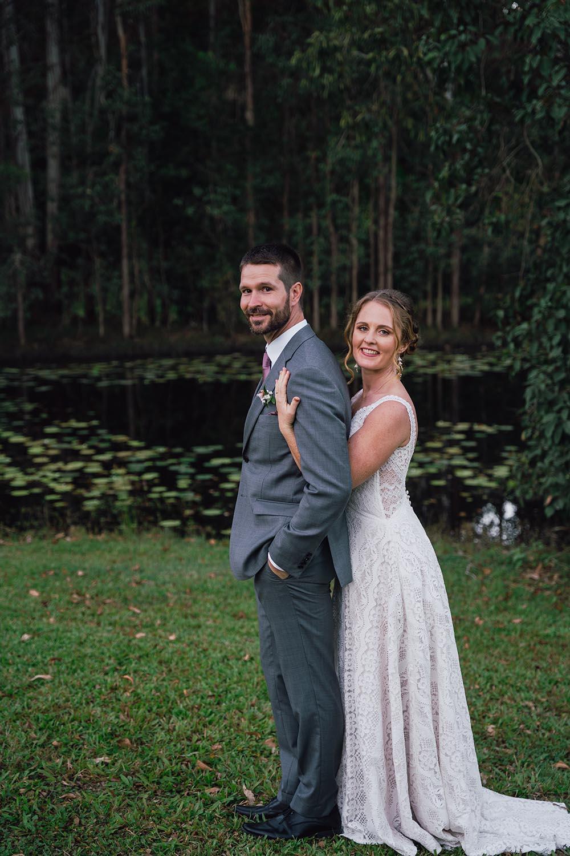 Wedding Photography - Bride holding groom