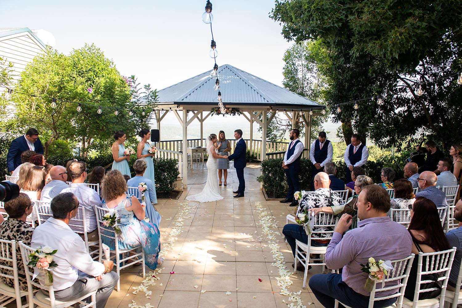 Wedding Photography - Ceremony guest