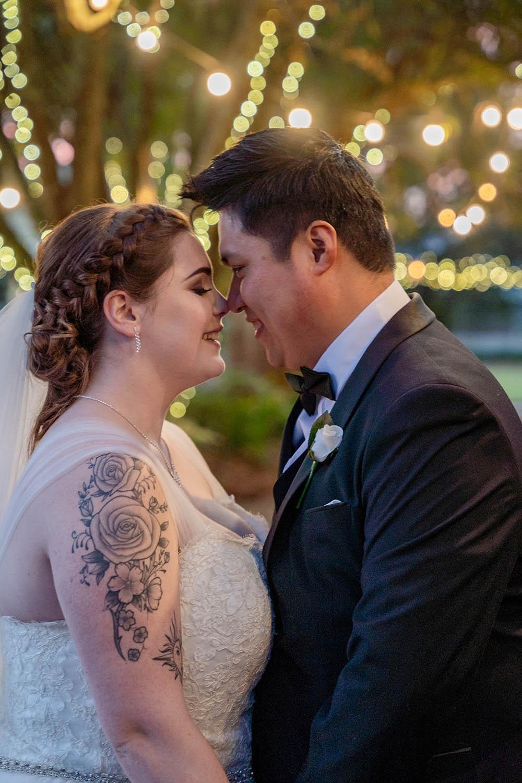 Wedding Photography - Couple Embracing