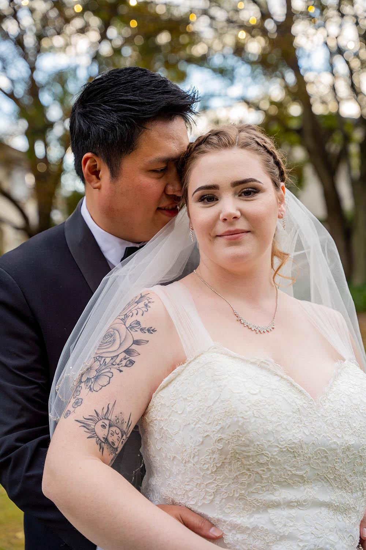 Wedding Photography - Couple Holding eachother