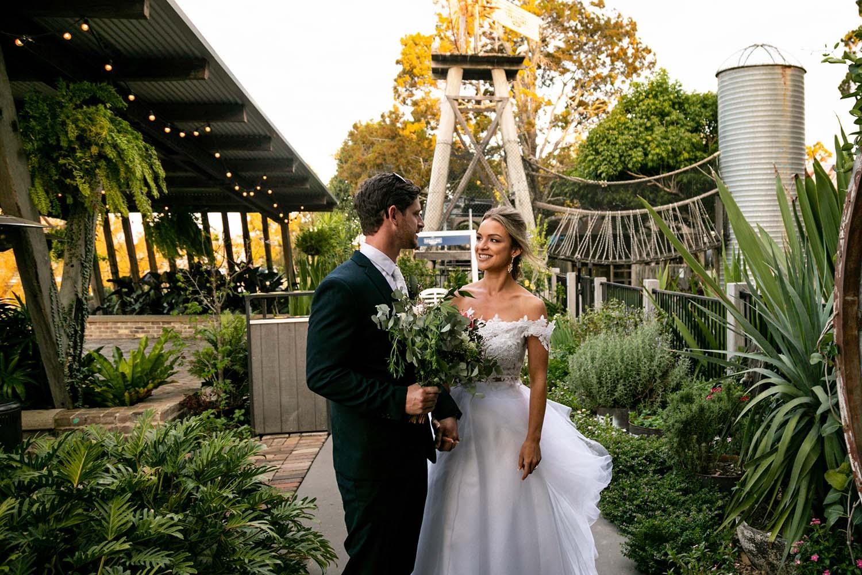 Wedding Photography - Couple Walking