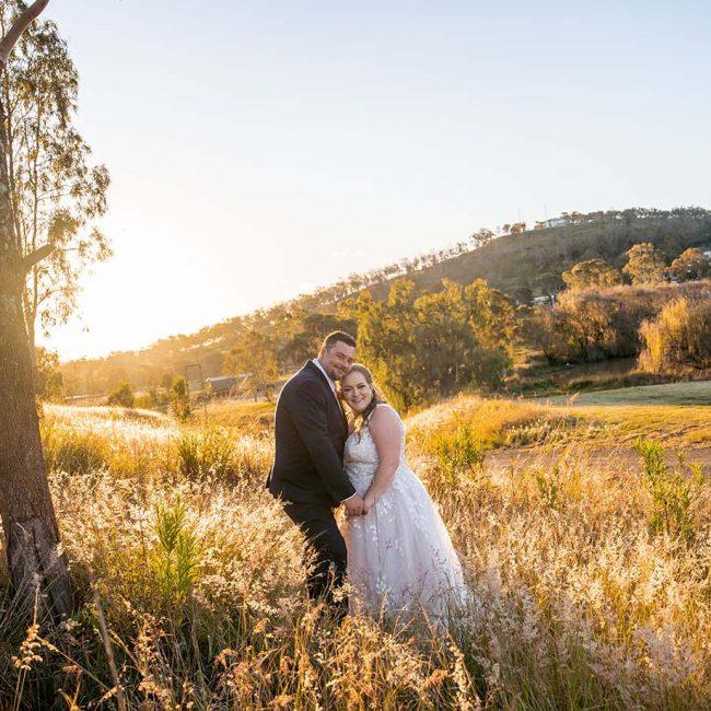 Wedding Photography - Couple at sunset