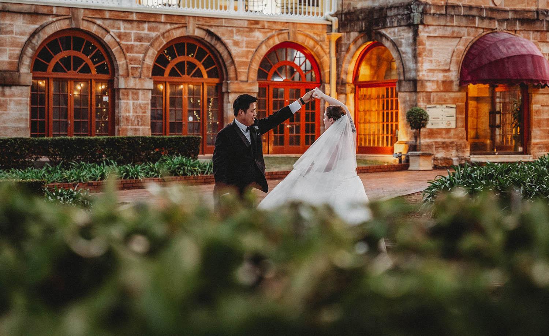 Wedding Photography - Couple dancing