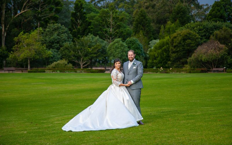 Wedding Photography - Couple in field
