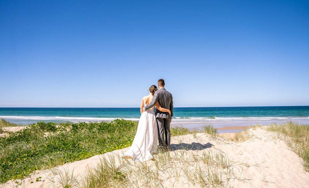 Wedding Photography - Couple on beach