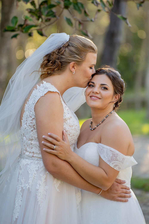 Wedding Photography - Forehead Kiss