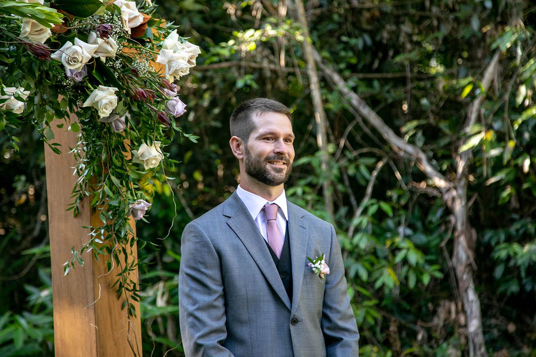 Wedding Photography - Groom waiting