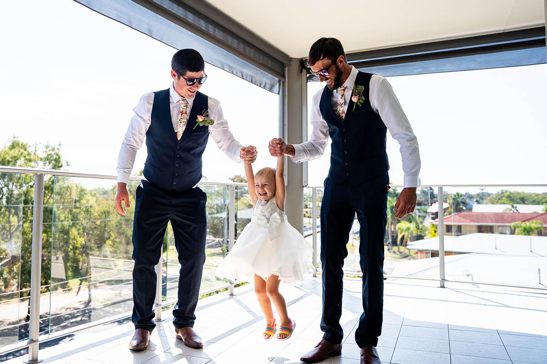 Wedding Photography - Groomsmen & Flower girl