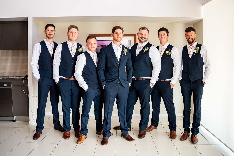 Wedding Photography - Groomsmen getting ready