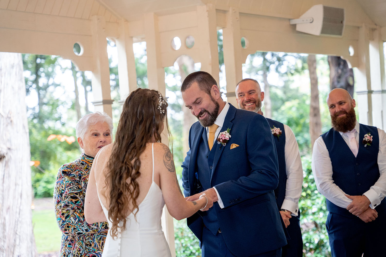 Wedding Photography - The ring exchange