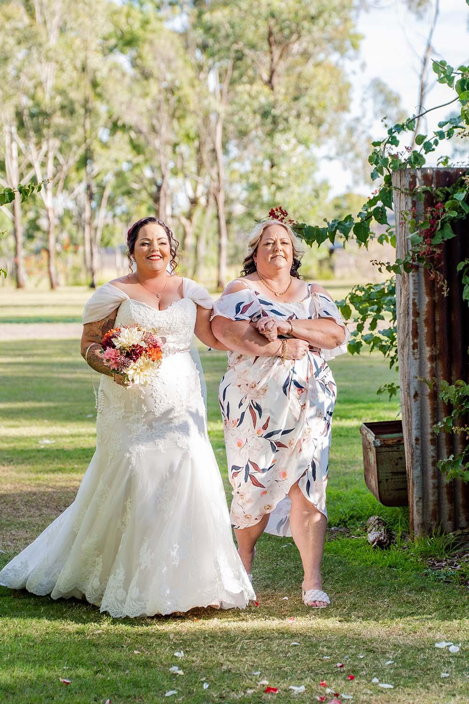 Wedding Photography - Walking down the isle