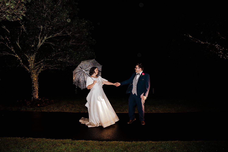 Wedding Photography - at night